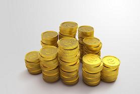 金币建模素材图片