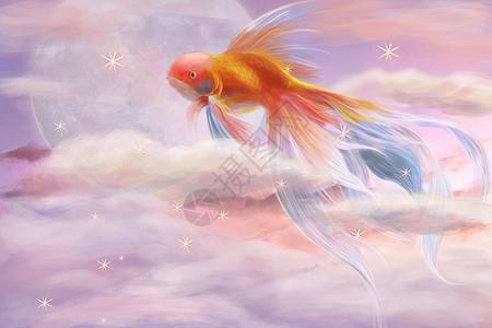 飞鱼入梦图片