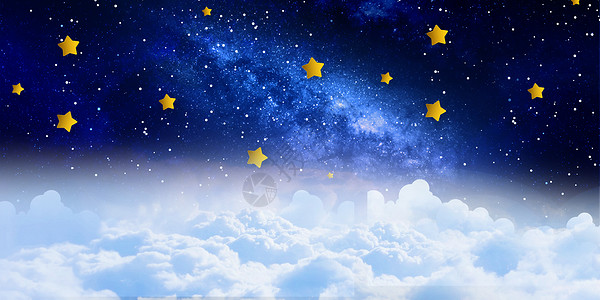 平安夜月亮大门背景海报图片
