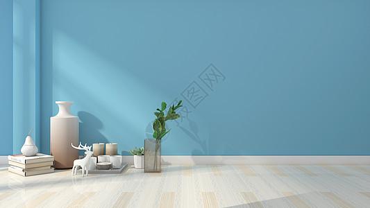 简约清新装饰品室内家居背景图片