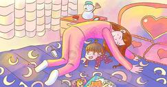 家庭亲子游戏图片