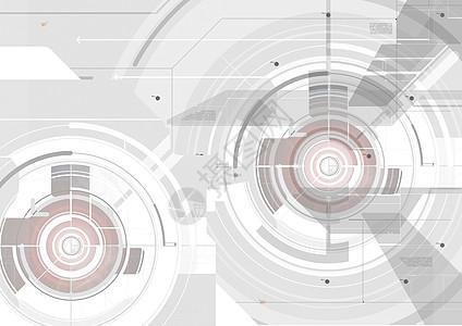 科技齿轮背景图片