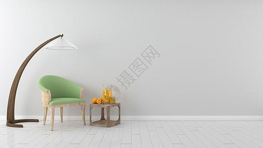简约灰色系室内家居背景图片