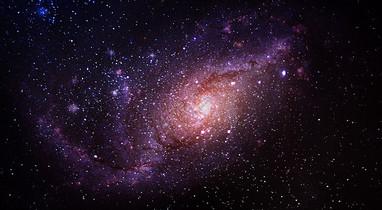银河星系背景图片