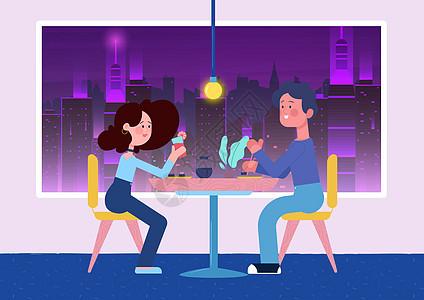 情人节浪漫晚餐图片