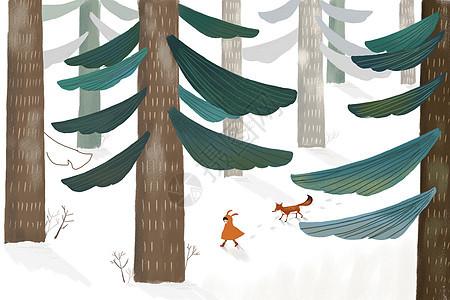 冬天的童话图片
