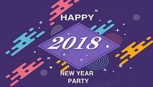 2018新年背景海报图片