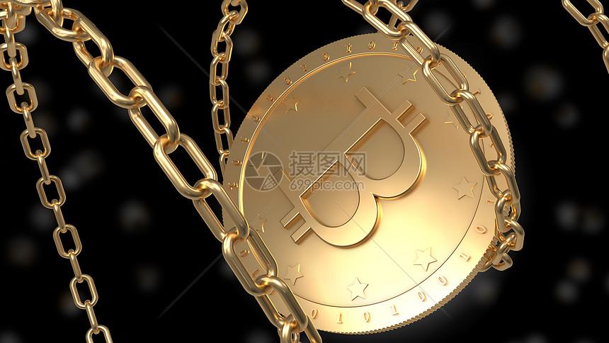 虚拟货币比特币图片