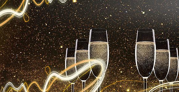 庆祝欢乐新年背景图片
