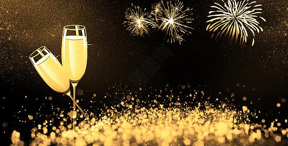 2018庆祝香槟图片