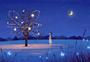 梦幻夜景图片