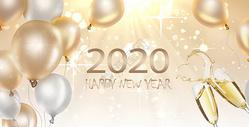 2018香槟庆祝新年图片