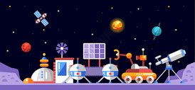 宇宙科技站图片
