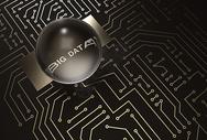 大数据电路板背景图片