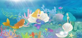 海底世界美人鱼图片