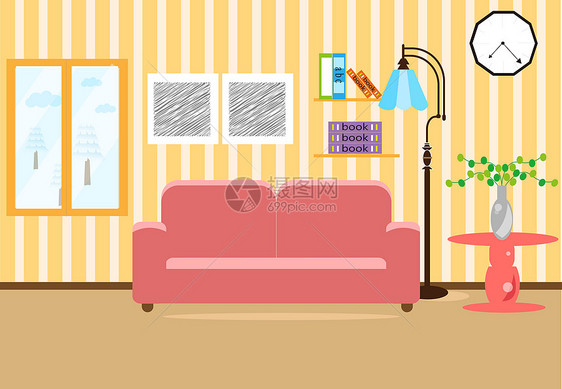 客厅房间室内图片