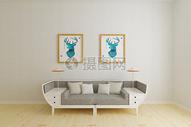 现代客厅沙发效果图图片