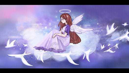 童话天空图片