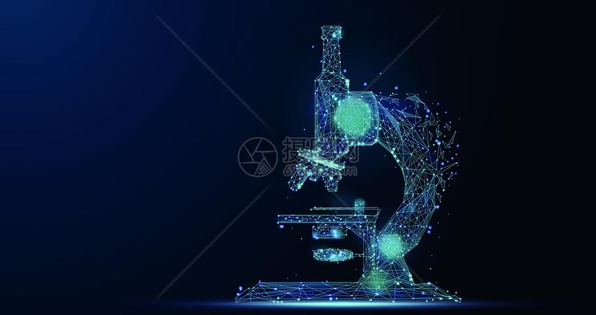 科技显微镜图片