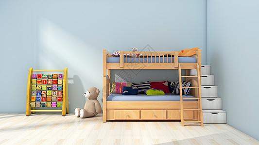 简约清新儿童房图片