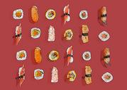 日式寿司背景图片