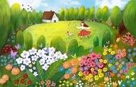 少女花园图片