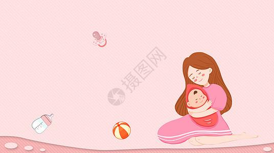 子宫中的婴儿图片