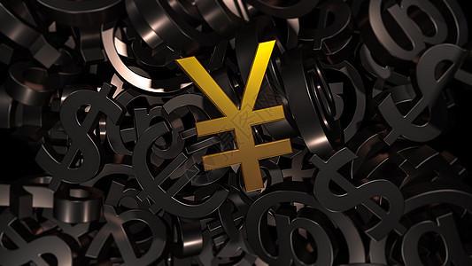 人民币符号背景图片