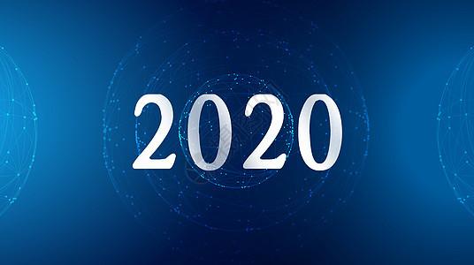 2018科技蓝背景图片