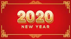 2018年新年福背景图片