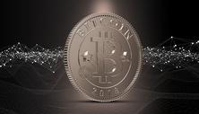 比特币立体图片