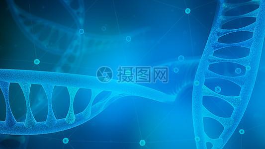DNA链条图片