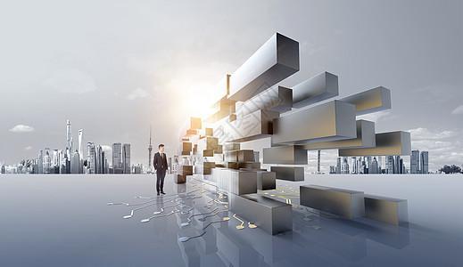 科技金融城市图片