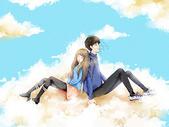 云端之恋图片