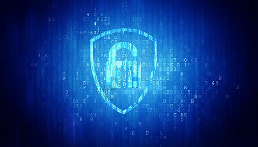 数据安全背景图片