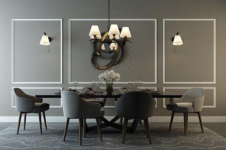 室内餐厅设计图片