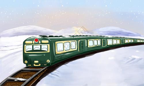 火车返乡图片