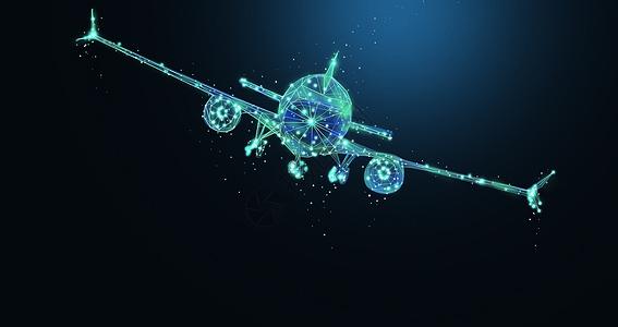 航空航天飞机背景图片