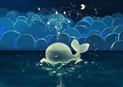 梦幻鲸鱼高清图片