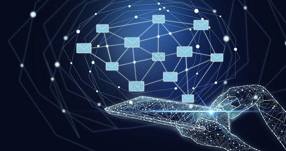 智能手机信息科技图片