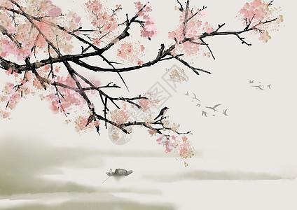 梅花喜鹊图图片