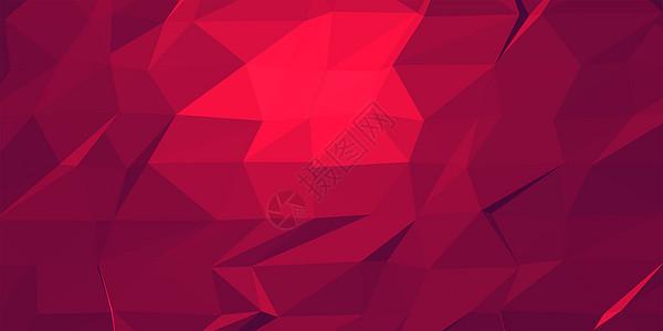 红色色块矢量背景图片