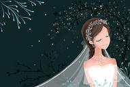 婚纱新娘图片