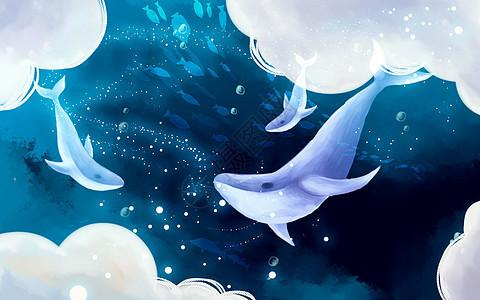 深海鲸鱼图片