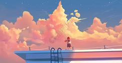 唯美云海图片
