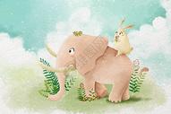小清新动物壁纸图片