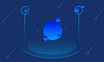 科技背景星球图片