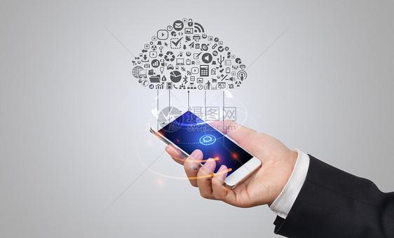 科技智能云服务图片