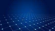粒子线条科技背景图片