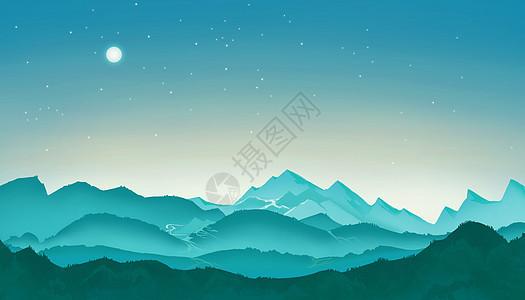 夜晚自然风光图片